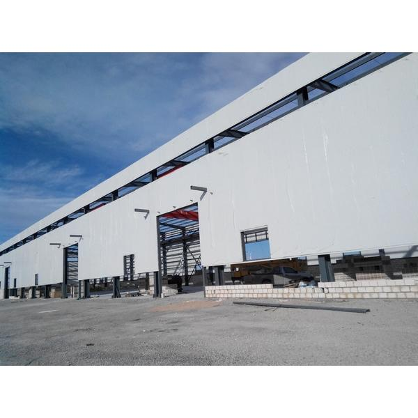 Assemble steel structure warehouse shopping mall #1 image