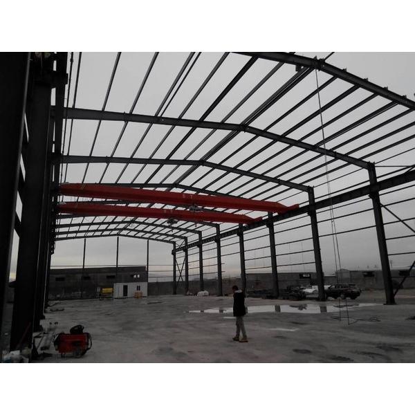 Waterproof prefab steel structure shed warehouse in Srilanka #3 image
