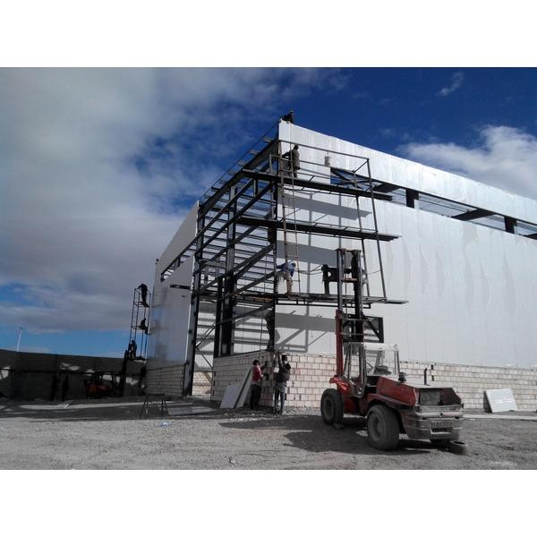 Steel support structure warehouse prefab house #5 image