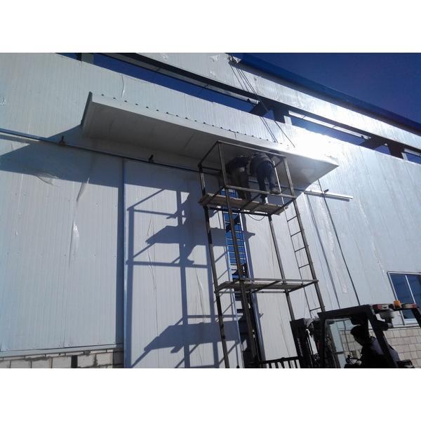 Waterproof prefab steel structure shed warehouse in Srilanka #6 image