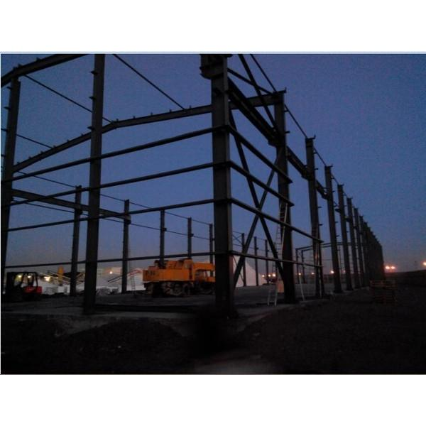 Fast construct Portable Steel structure prefabricated rice plant #8 image