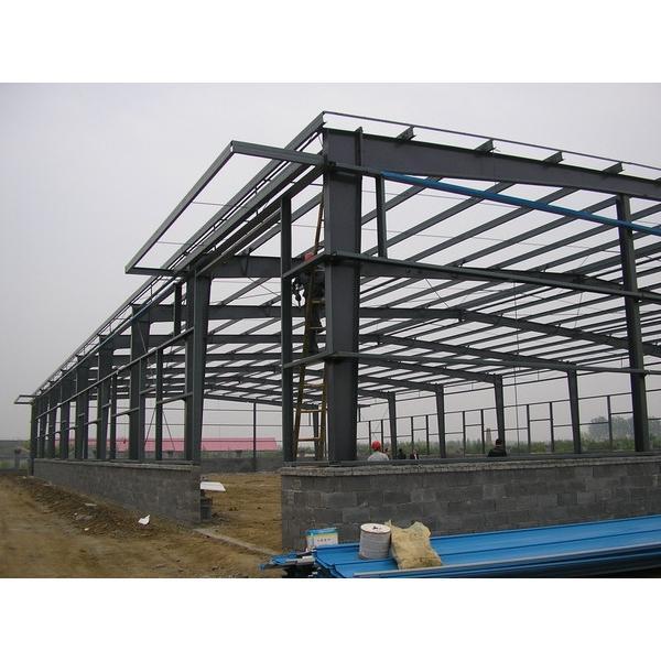 New style big warehouse prefab house in Srilanka #1 image
