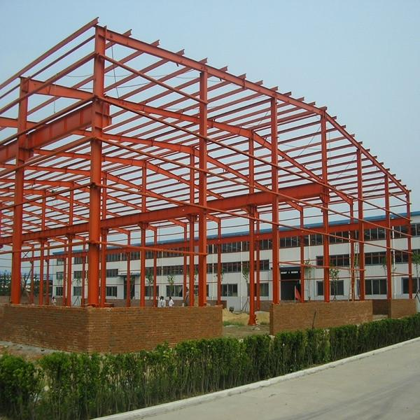 Fast construct Portable Steel structure prefabricated rice plant #7 image