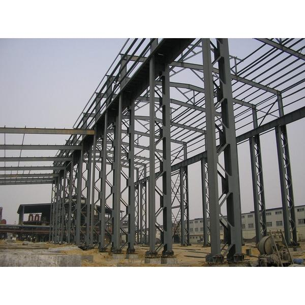 Structural steel frame warehouse #10 image