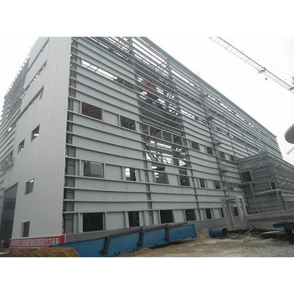 Steel structure warehouse prefab house in Srilanka #1 image