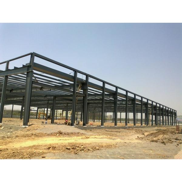 Portable Steel structure prefabricated rice plant #1 image