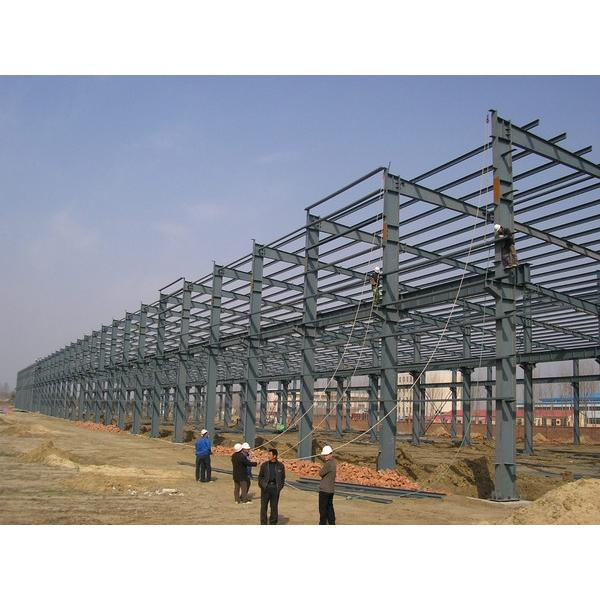 Easy assemble Portable Steel structure prefabricated rice plant #1 image