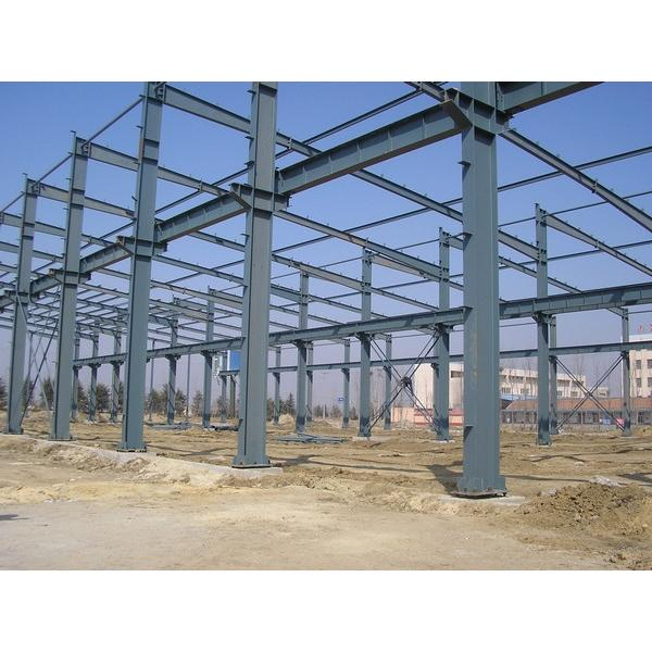 Fast construct Portable Steel structure prefabricated rice plant #1 image