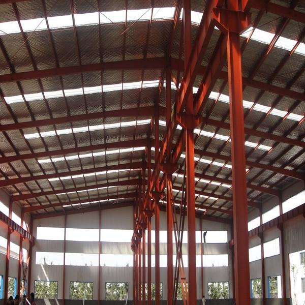 Light Steel structure prefabricated rice plant #1 image