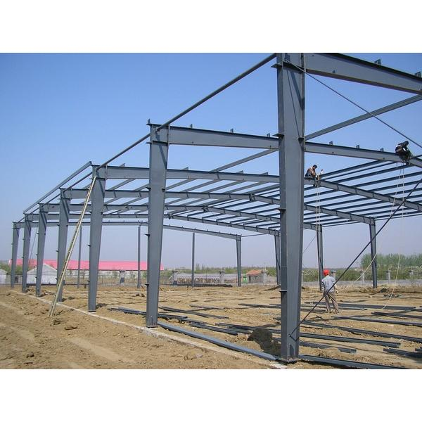 Steel warehouse shed #1 image