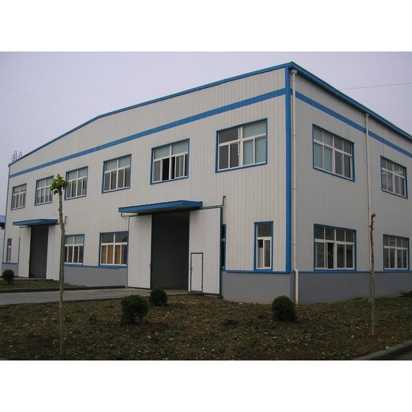 New design steel structure warehouse in China