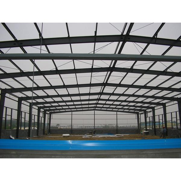 2017 New Stylish Steel Roof Trusses Prices Swimming Pool Roof #1 image