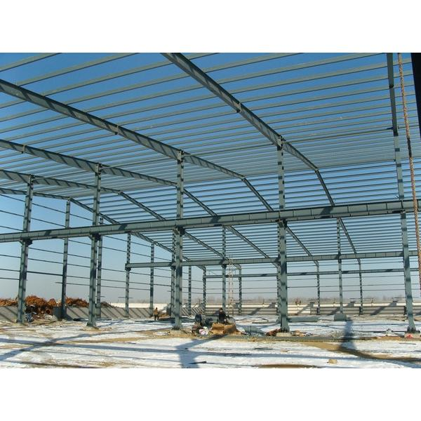 45m span steel structure warehouse manufacturer #1 image
