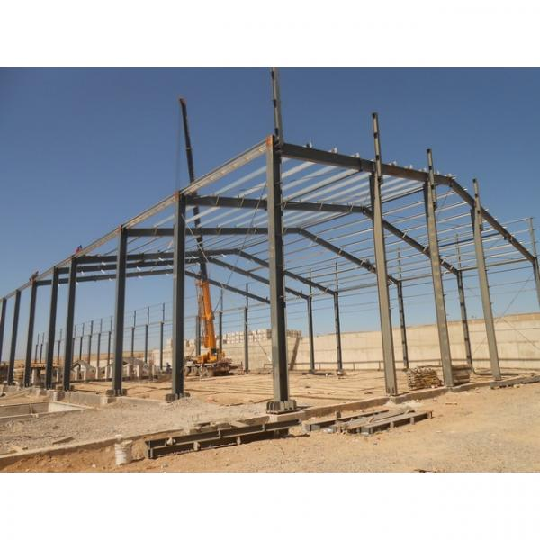 Quick construction steel structure warehouse in Srilanka #1 image