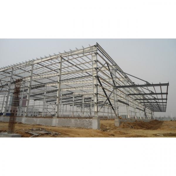 Waterproof prefab steel structure shed warehouse in Srilanka #1 image