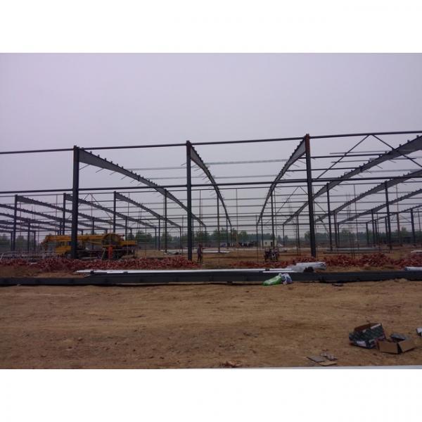 50m span big warehouse prefab house in Srilanka #2 image