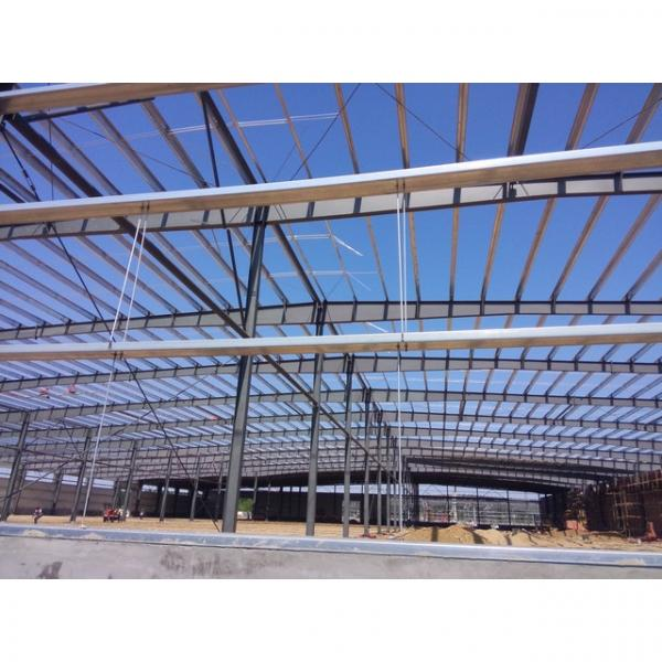50m span big warehouse prefab house in Srilanka #6 image