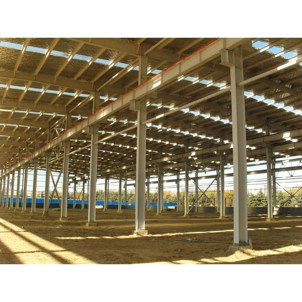 China standard big warehouse prefab house in Srilanka