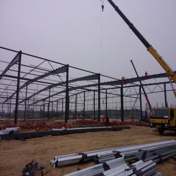 China standard big warehouse prefab house in Srilanka #2 image