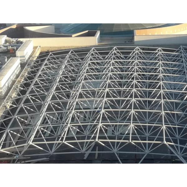 high standard prefab long span steel metal frame swimming pool #1 image