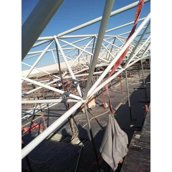 Low Cost Steel Roof Trusses Prices Swimming Pool Roof #1 image