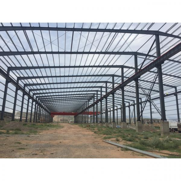 Steel structure warehouse prefabricated material house #1 image